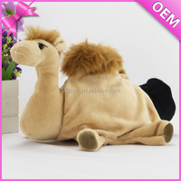 Cute animal Hand Puppets Children Gift Plush Animal Toys Horse Parents Story Telling Fun Game toy wholesale
