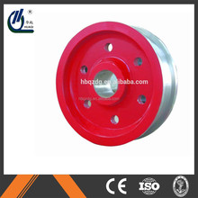 transport international shipping gantry crane forged wheel blank