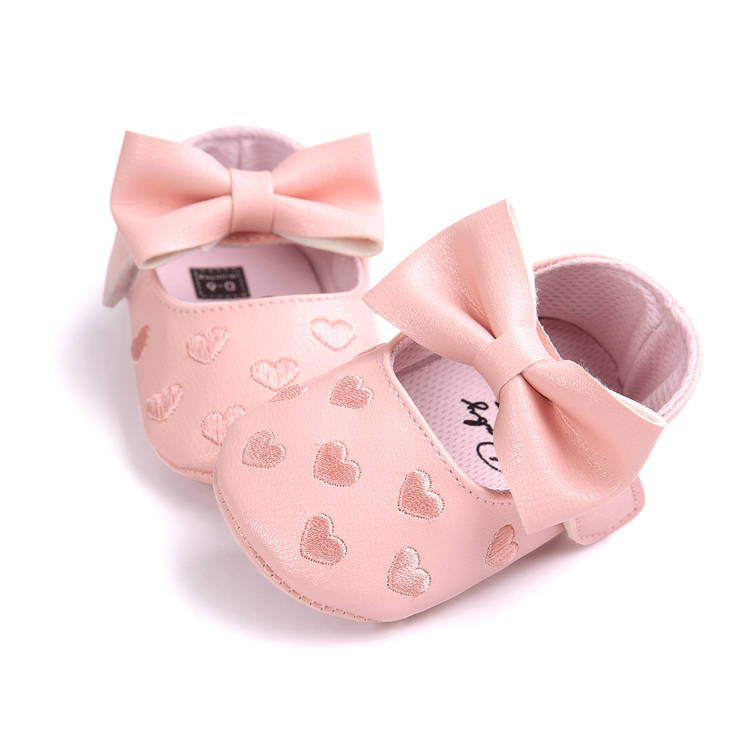 New Comfortable PU Leather Toddler Baby Shoes