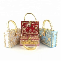 Guangzhou Occi supplier wholesale women acrylic clutch handbags OC3641