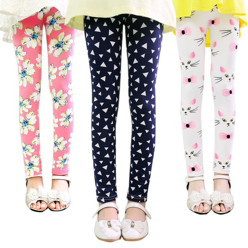 ea508194ee08b Buy Sec link girl pants new arrive printing Flower girls leggings Toddler  Classic Leggings 2-14Ybaby girls leggings kids leggings in Cheap Price on  ...