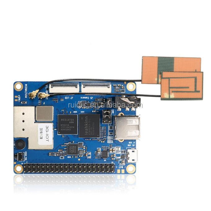 Hot selling Orange Pi 3G-IOT-A 256MB Cortex-A7 512MB EMMC Support 3G SIM Card Bluetooth
