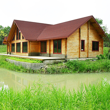 modular wood cottage/comfortable wooden house