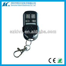 315MHZ-433MHZ wireless universal remote control car key with 4buttons