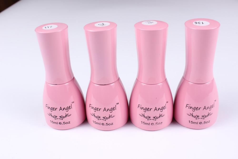 144 Colors Nail Gel Polish Gel Len Long lasting Soak off Gel Nail LED UV 15
