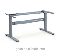 adjustable metal electric lifting workstation adjustable desk