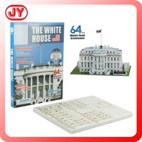 Hight quality The white house 3d puzzle to assemble