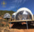 Steel Structure Geodesic Dome Gazebo Camping Winter Shelter Tents