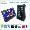 10 inch dual core smart android 4.2 china no brand tablet pc with front and back camera