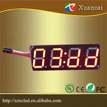 0.56Inch 4 Digits 88:88 Button Operation LED Timer Number Display
