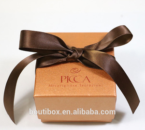 Factory Direct Sale Fancy Kraft Paper Packaging Box Rigid Set Up Boxes