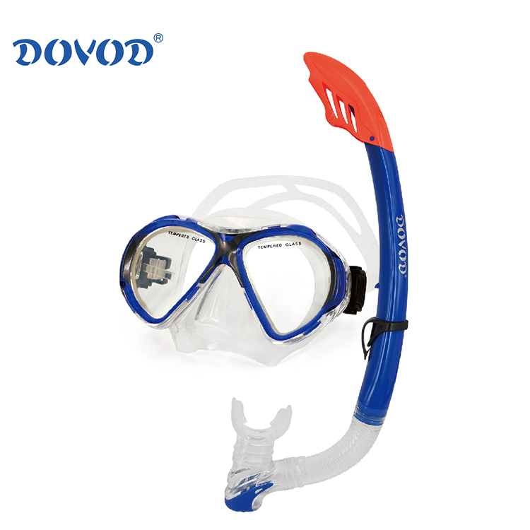 Swimming & diving products diving equipment swimming mask glass goggles snorkel set