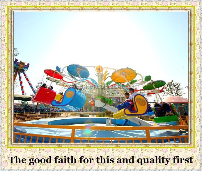factory direct rides entertainment rides rotating double flying