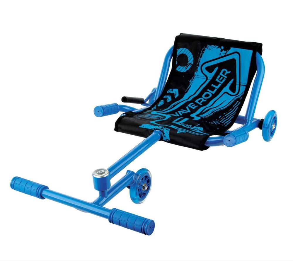 Kids Ride on Toy Lampeggiante Ruote Ezy Wave Roller Scooter classico