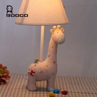 ROOGO Living room decoration Lights Indoor study kids animal table Lamp buy