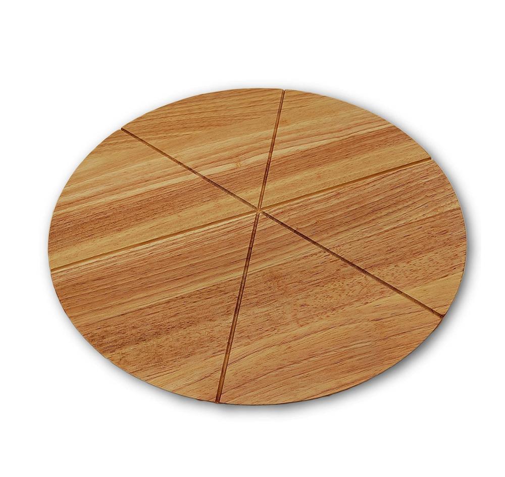 Bambu Alami Keju Cutting Board Set dengan Alur untuk Daging dan Sayuran