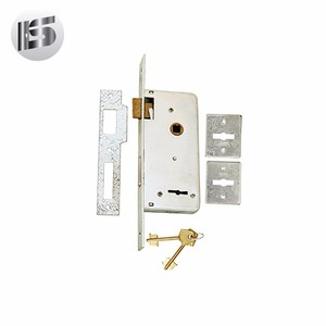 85604R SS High Security 4 bolts 2 turns metal door lock body mortise lock cylinder lock (at)185-6137-8920