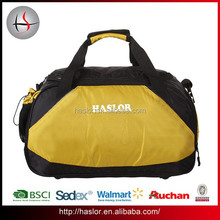 2015 Waterproof duffel bags with shoe compartment