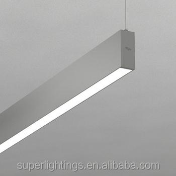 suspended lighting. Aluminium Profile Fluorescent Lighting Suspended Office