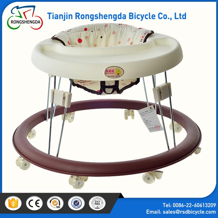 8 Wheels Plastic With Music Rolling Baby Strollers