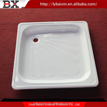 Top Quality Freestanding Cast Iron Shower Trays Acrylic Resin Tray Porcelain