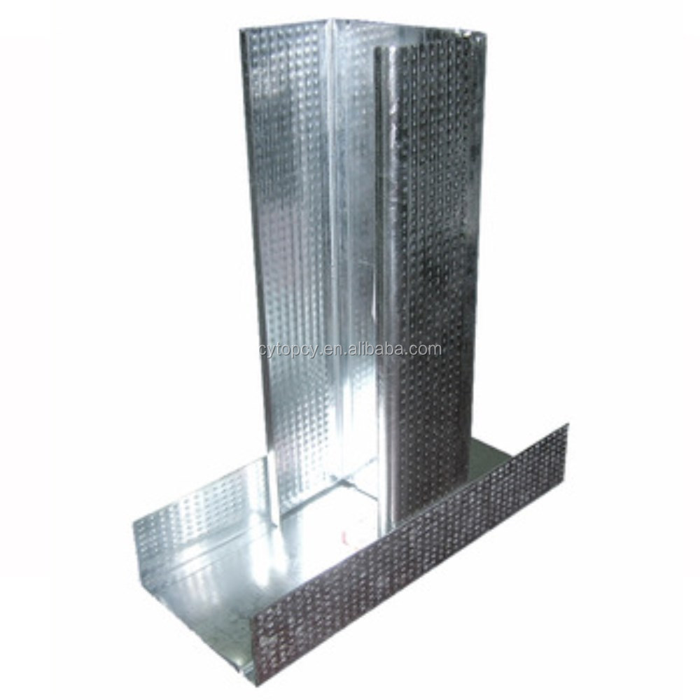 Galvanized Cold-formed Steel Framing C And U Channel - Buy C Shaped ...