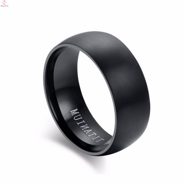 Mens Wedding Bands Titanium.Simple Wedding Bands Plain Black Titanium Rings For Men Buy Simple Titanium Wedding Bands Plain Rings For Men Black Titanium Mens Ring Product On