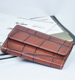High quality fold men women short purse small leather wallet crocodile leather card holder mini money purse