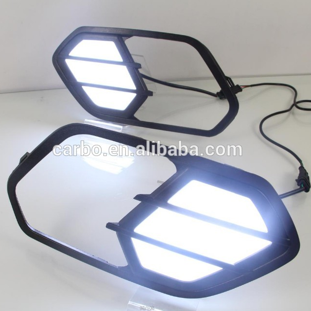 Commercio all'ingrosso super bright car led drl per ford kuga/Fuga led daytime running light