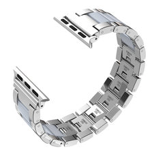 Wearlizer iWatch легкий алюминиевый ремешок браслет классический браслет металлические часы с застежкой для Apple Watch Series 4 3 2 1(Китай)