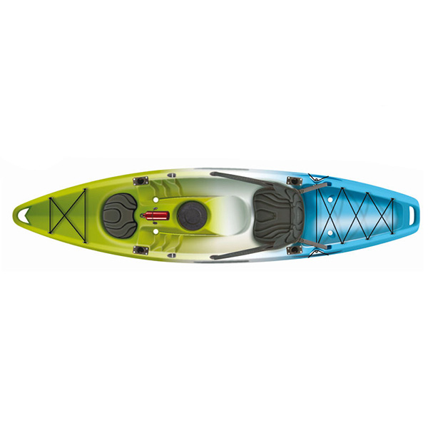 leisure life single fishing kayak made in china
