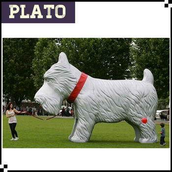 Lovely Shih Tzu Giant Inflatable Dog/ Woman And Dog - Buy Giant ...