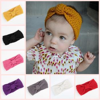 Winter Baby Knitted Ear Warmer Headbandshandmade Crochet