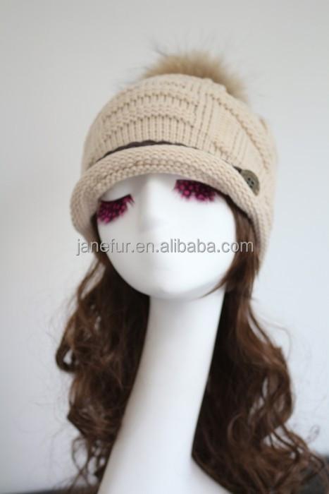 889684612a9 China Fur Ball Cap