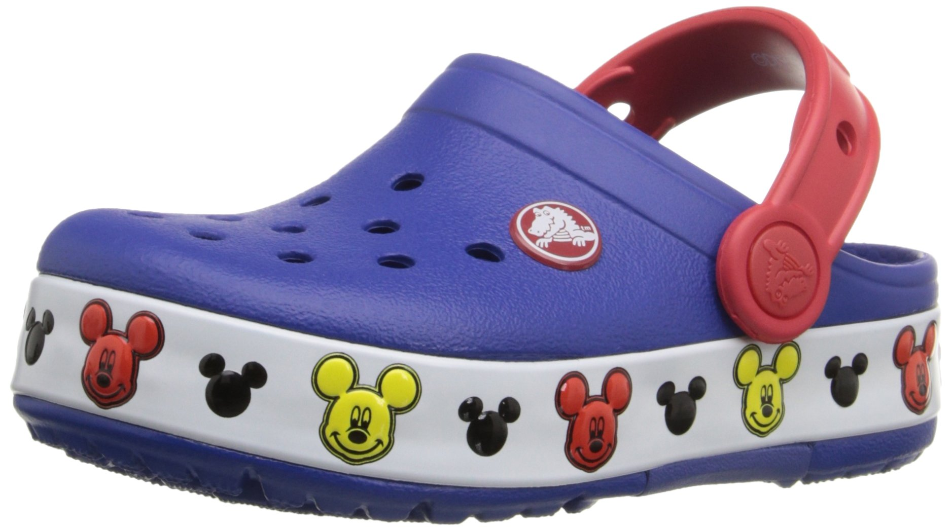 5b12f2e697df0b Get Quotations · Crocs Kids  Light-up Mickey Mouse Clog