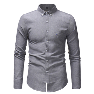 Wholesale Good Quality Mens Office Business Uniforms Dress Shirts