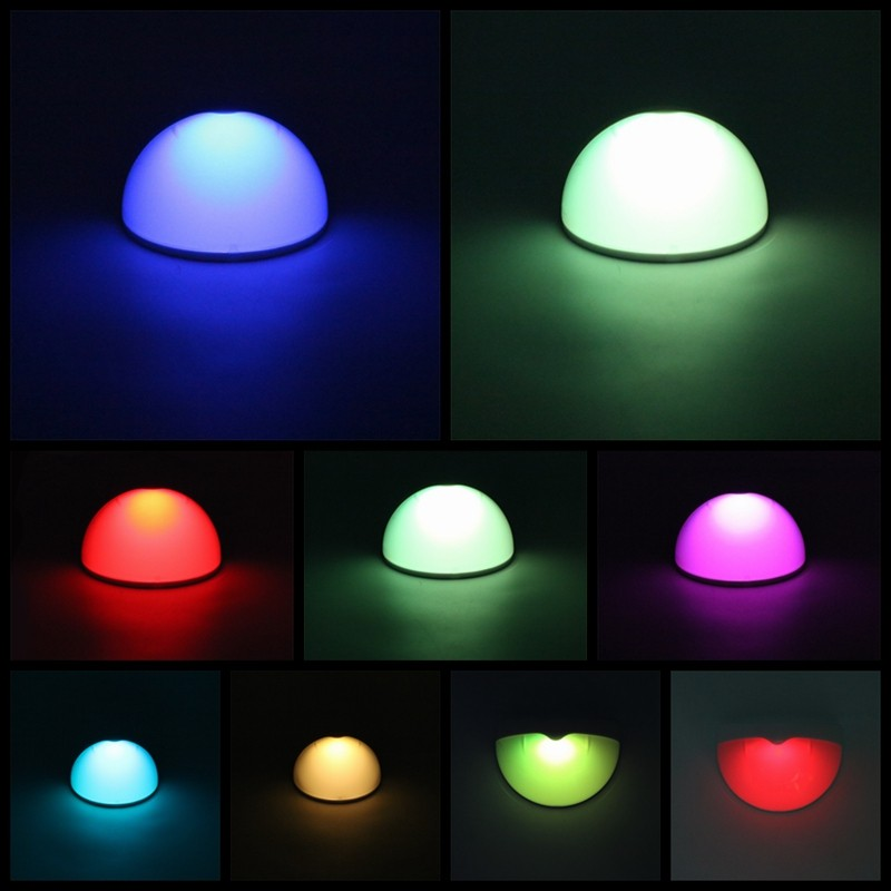 Led Wall Sconces Conceal Hidden Weather Forecast : 7 Color Changeable Rgb Led Outdoor Solar Power Light Fence Roof Gutter Garden Wall Lamp Path ...