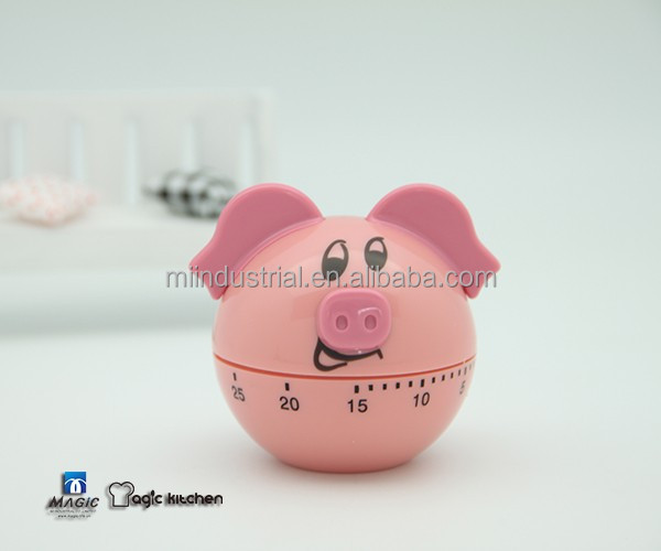 Hot Sale Kitchen Timer Pig Design