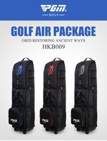 PGM wholesales coded lock and zip lock golf travelling bag