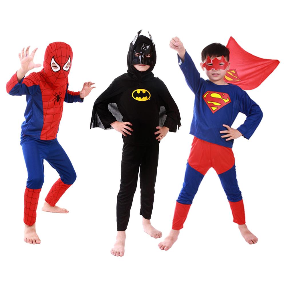 Roupas De Super Heróis Para Os Meninos Vender Por Atacado