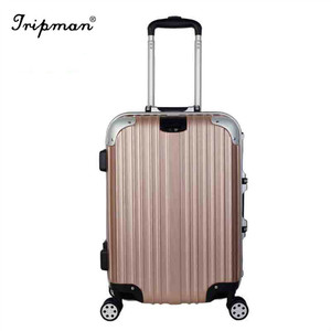"20/24/28""/set ABS Luggage Set Silent Spinner 4 Wheels Customized ABS Trolley Carry on Hard Shell Luggage"