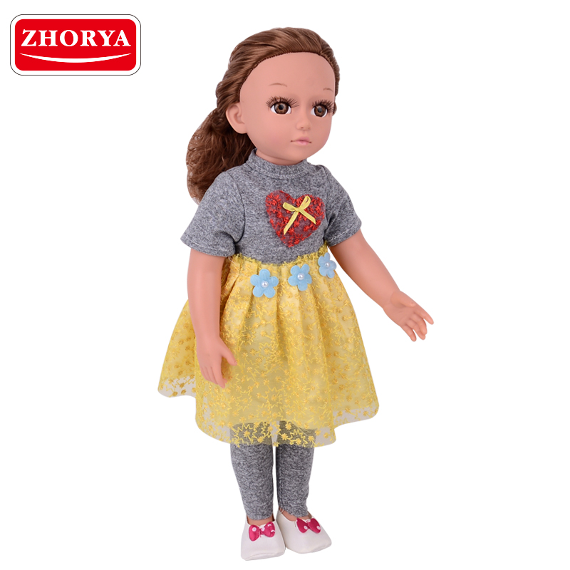 zhorya Fashion american girl clothes custom 18 inch <strong>doll</strong> for girls