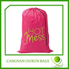 Extra large polyester laundry bags print logo