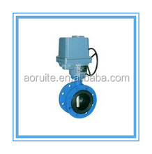 Electric Actuator/Solenoid Flange Butterfly Valve