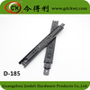 Telescopic Channels Heavy Duty 3-Fold Ball Bearing Black Drawer Slide