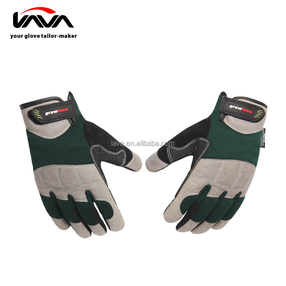 Customized Anti-vibration Thinsulate C40 Synthetic Leather Gloves