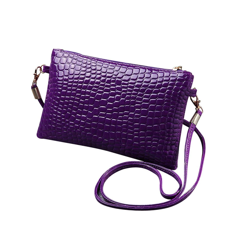 Liraly Gift Bags,Clearance Sale! 2018 New Women Girl Fashion Purse Leather Crocodile Pattern Mini Crossbody Shoulder Bag