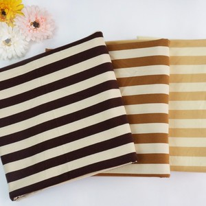 Soft textile 100% cotton knitted stripe jersey fabric