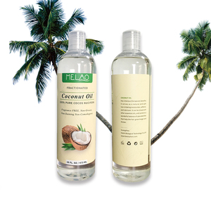 OEM/ODM Brand Best Fresh Therapeutic Grade Cold Pressed Pure and Organic Bulk Fractionated Coconut Oil for hair Wholesale