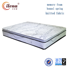 Soft feeling good elasticity memory foam bonnel spring mattress(IL4-A072)